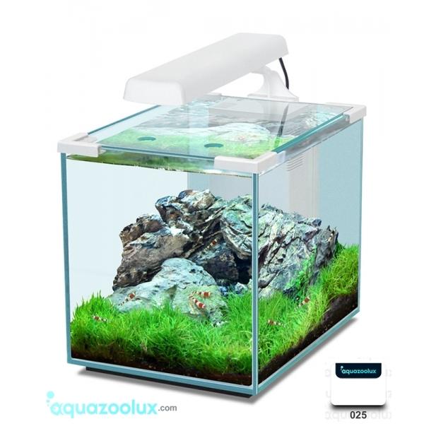 Nano cubic 20 acuario de dise o aquatlantis aquazoolux for Disenos de acuarios