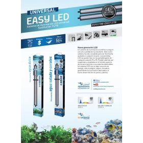 PANTALLA EASY LED 1450 MM AQUATLANTIS AGUA DULCE